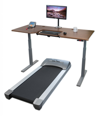 Treadmill Desk, work whilst walking.