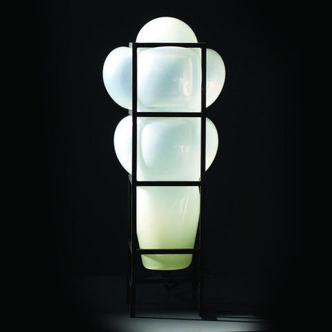 "Harry Allen Esque: ""Ghost in the Machine"" Grid Bubble Lamp"