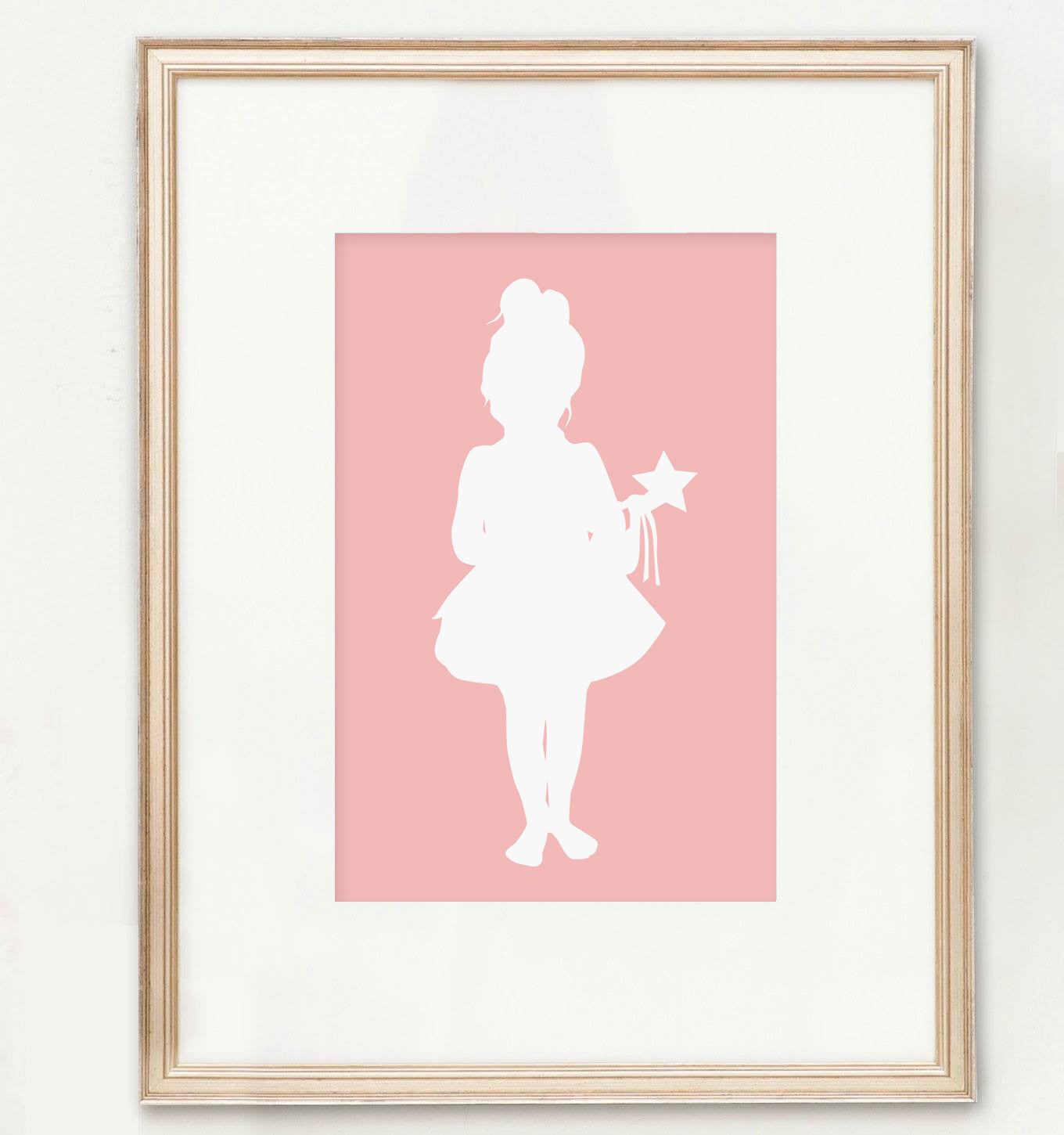 Custom Full Body Silhouette Print