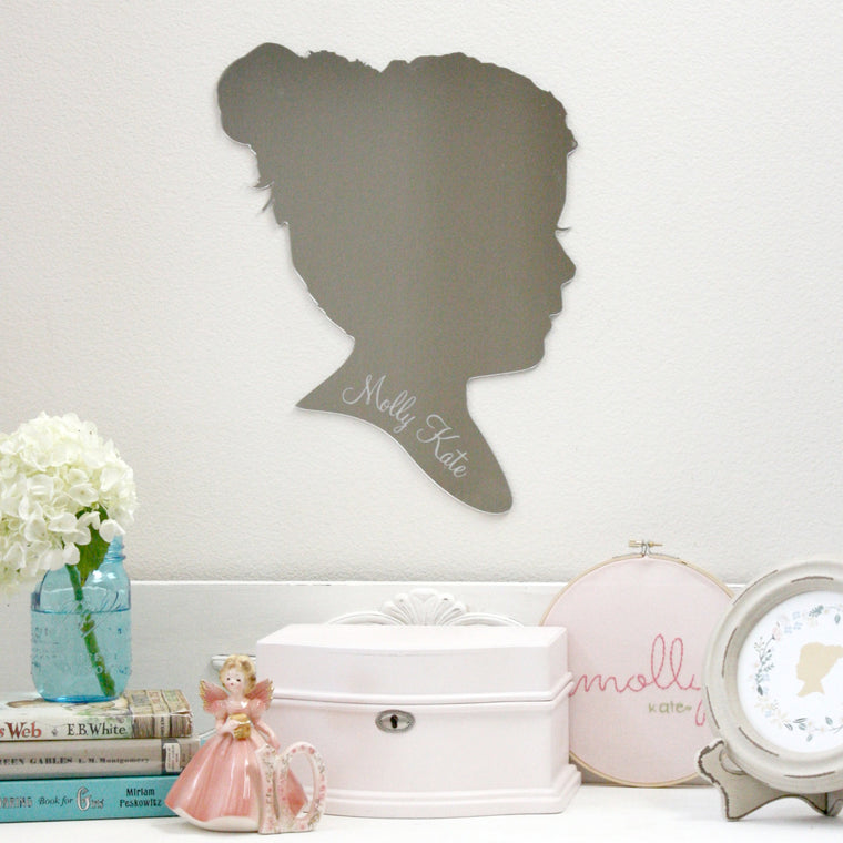 Custom Silhouette Mirror
