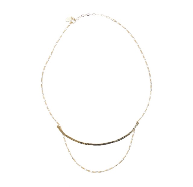 Swoop Curve Necklace