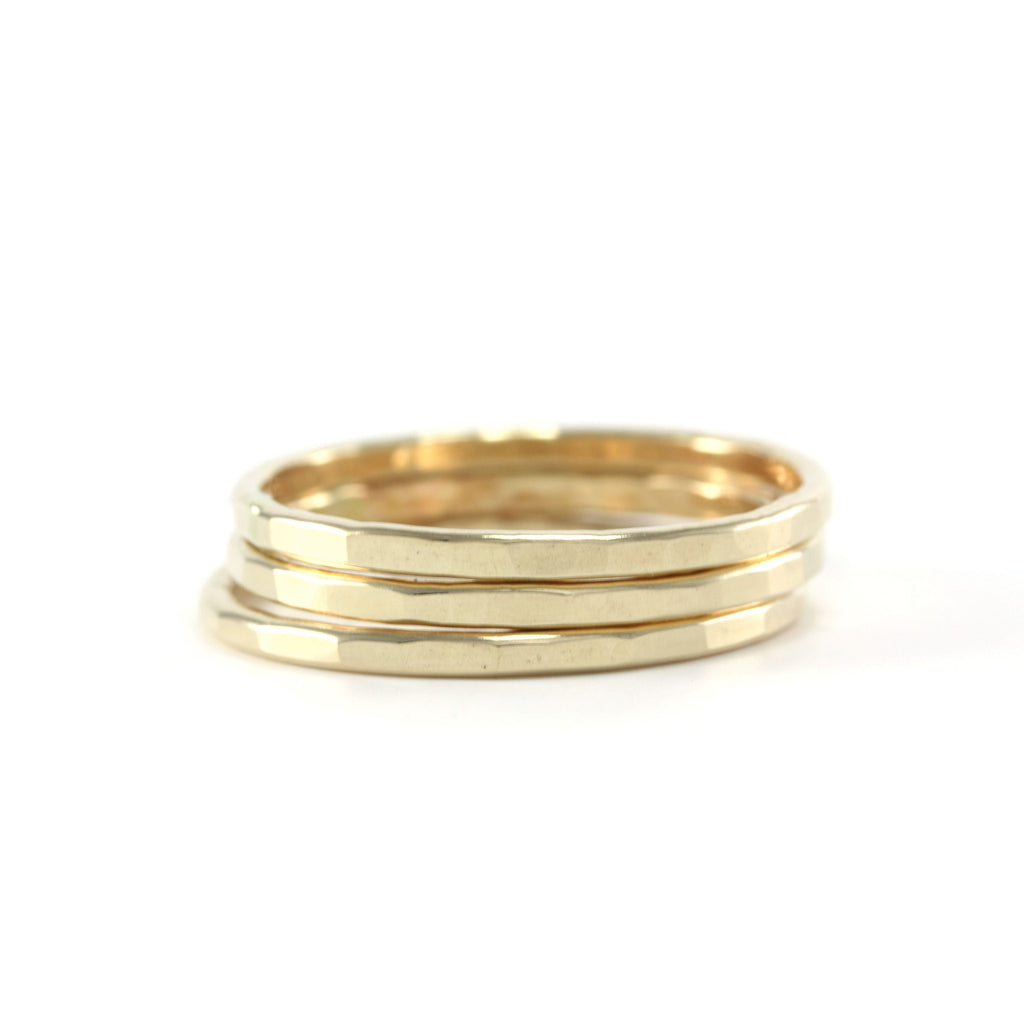 Gold Stack Ring