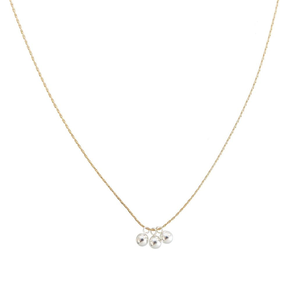 Trio Bell Necklace