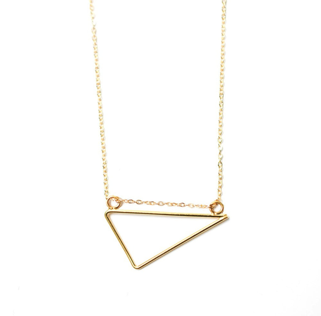 Triangle A-Cute Necklace