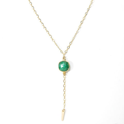 Lust Necklace- Emerald
