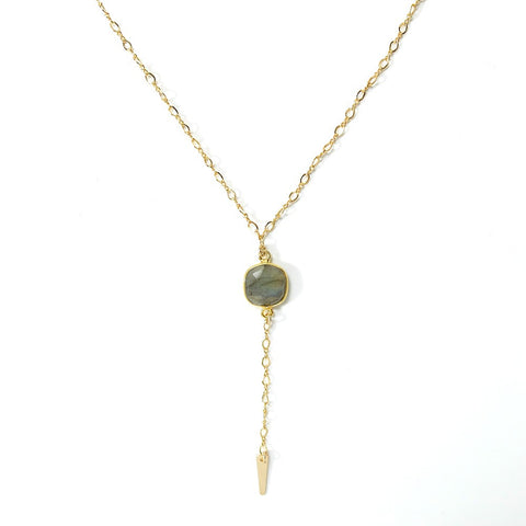 Lust Necklace- Labradorite
