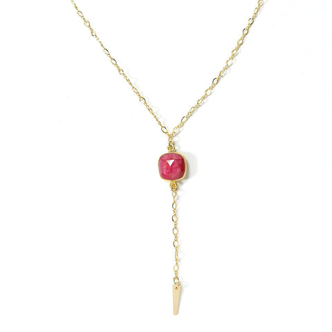 Lust Necklace- Ruby