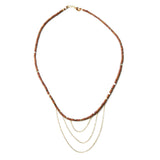 Necklace- Brown Jade