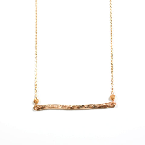 Horizon Bar Necklace- Small