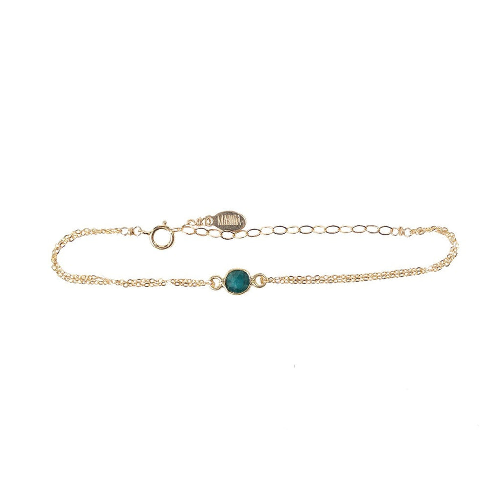 Wishing Well Bracelet- Emerald