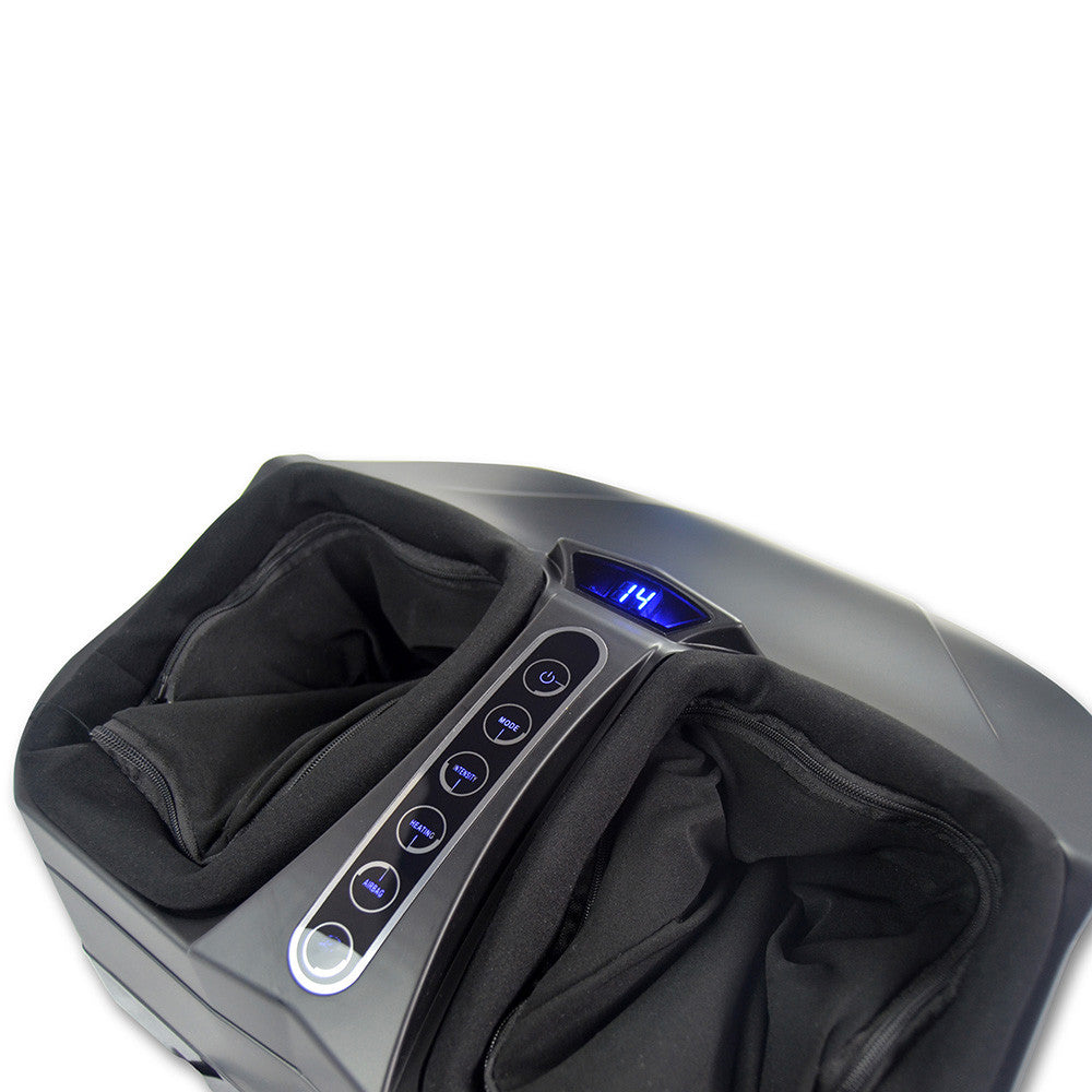 Wuldmar Unwind ii 3D Deluxe Shiatsu Foot Massager + Air Pressure + Heat