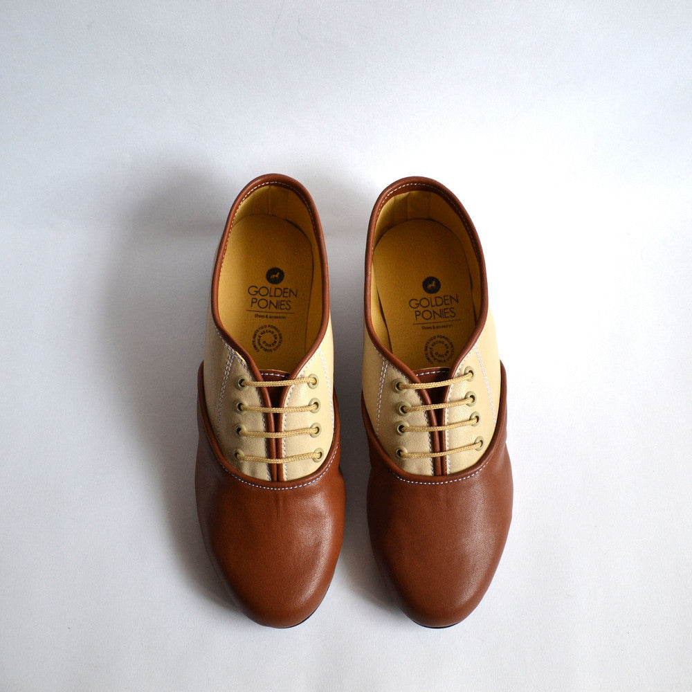 Pony Oxford Duo Brown-Beige