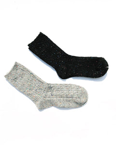 Multicolor Confetti Thick Socks