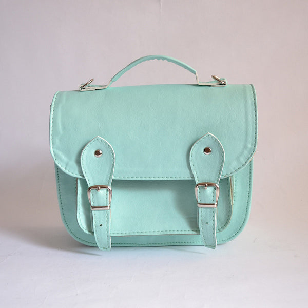 Bag #3 vegan non-leather small satchel