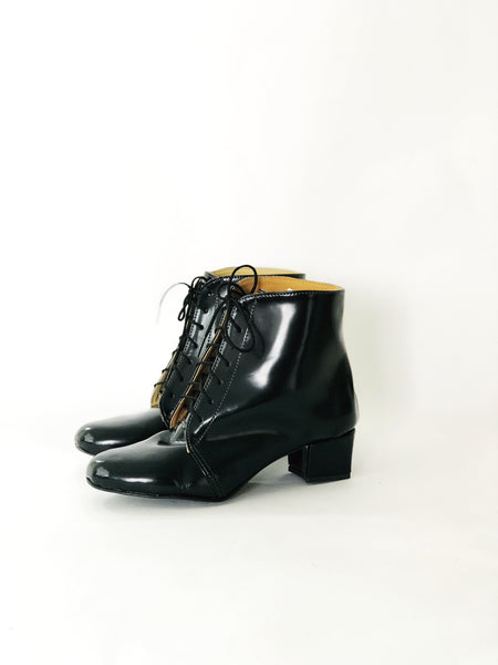 Luca Lace Up Heeled Ankle Boots