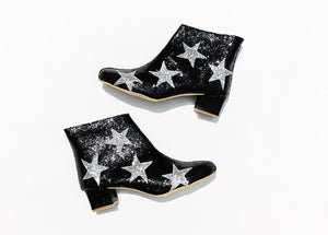 Edie Stars Heeled Ankle Boots