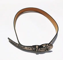 Load image into Gallery viewer, SALE Snakeskin Print Belt