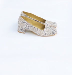 Ariel Square Toe Pumps