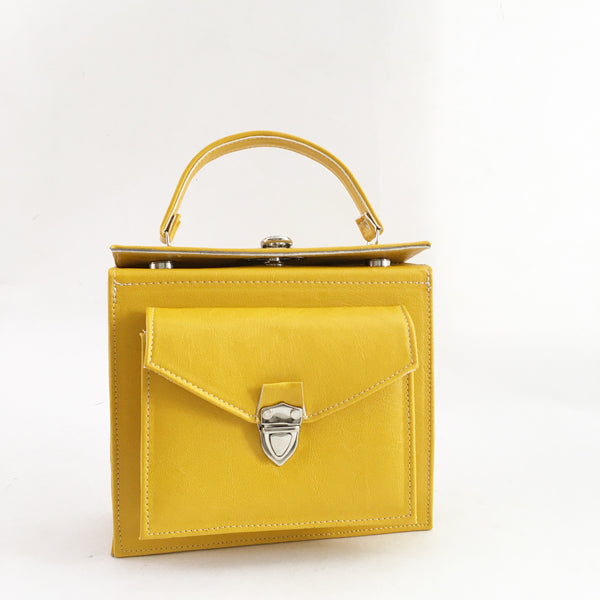 Alexa Structured Box Shoulder Bag