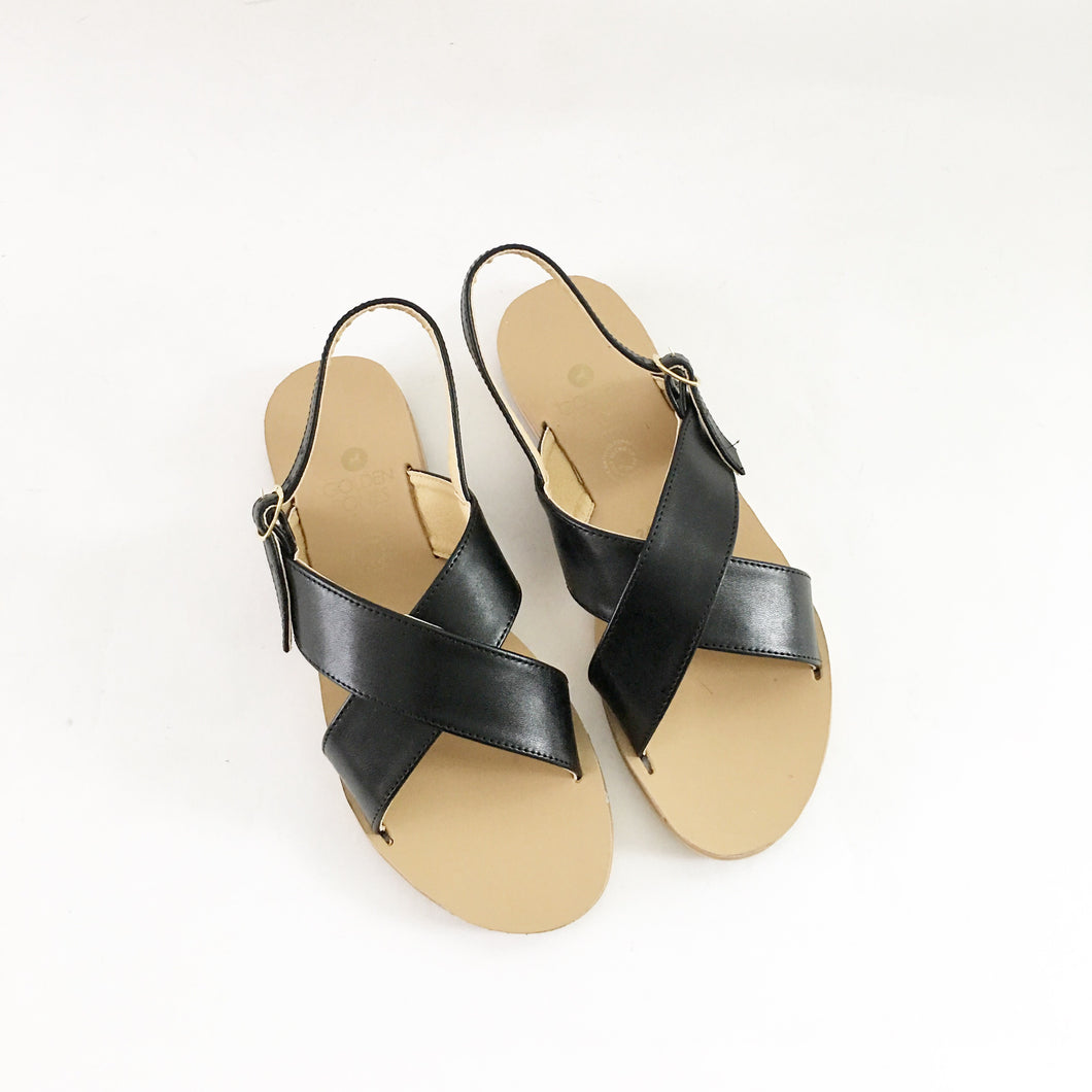 Valentine Criss-Cross Sandals