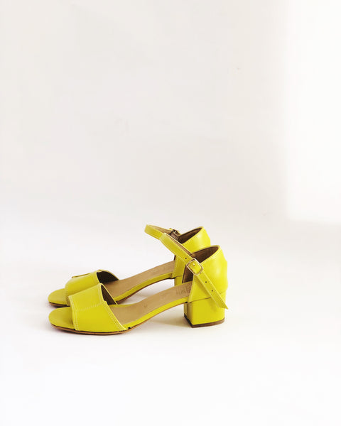 Mary Faux Leather Sandals