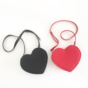 Heart Faux Leather Crossbody bag (Ready to ship)
