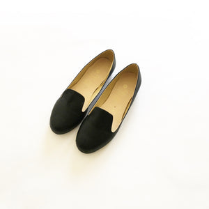 Daisy Faux Leather Flat Loafers