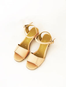 Irene Faux Leather Heeled Sandals