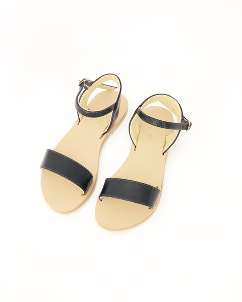 Zoe Classic Faux Leather Sandals