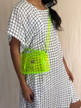 Load image into Gallery viewer, Neon Vinyl Micro Purse Shoulder Crossbody Bag