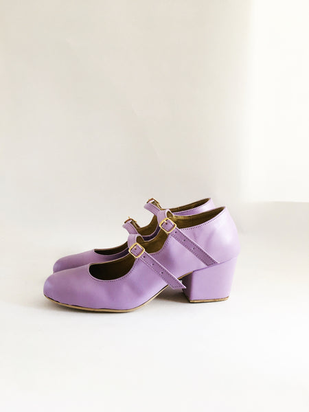 Molly Faux Leather Strapped Heels