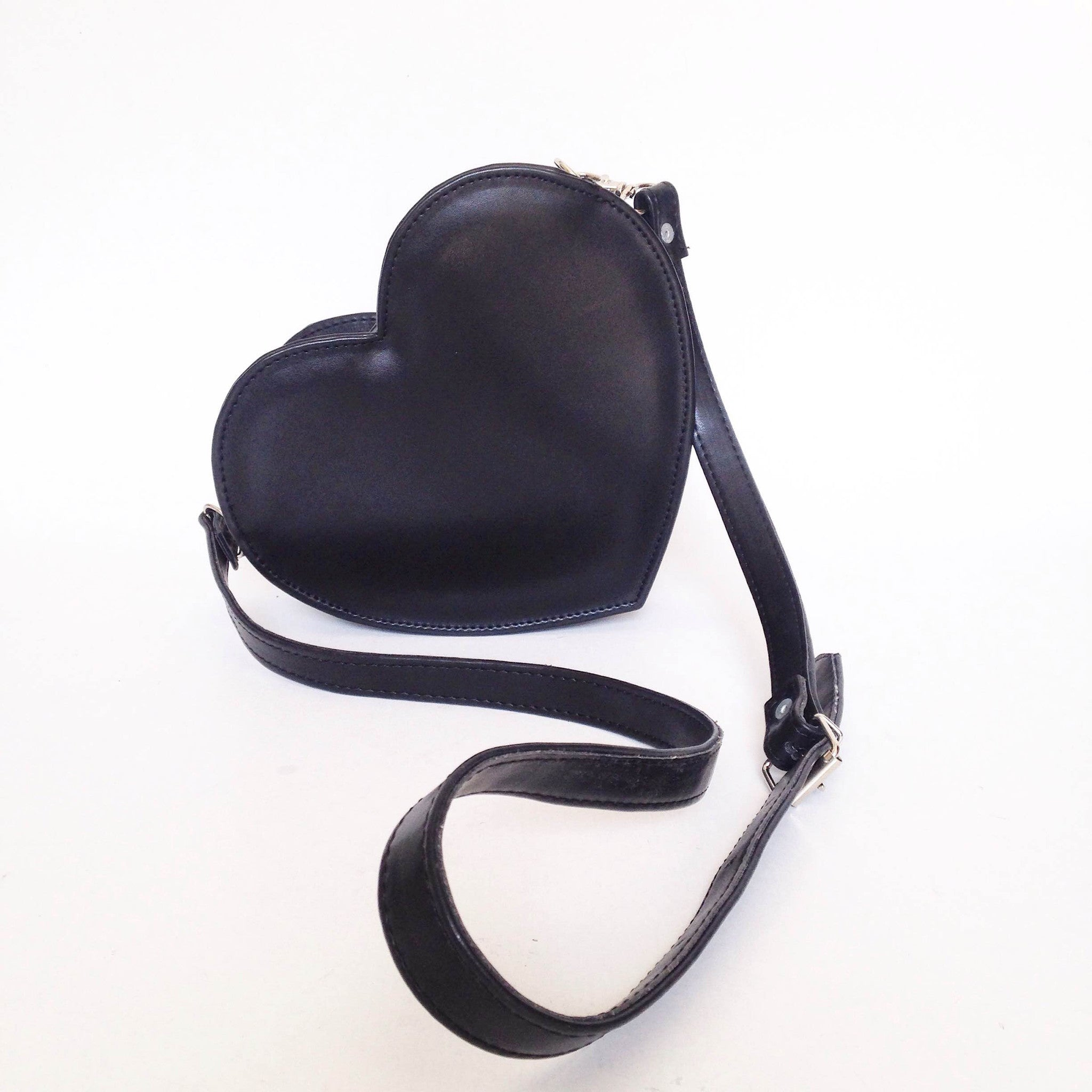 e8e508586 Load image into Gallery viewer, Heart Faux Leather Crossbody bag (Ready to  ship) ...
