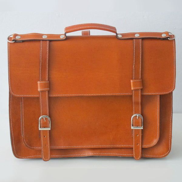 Briefcase #1 Leather Satchel