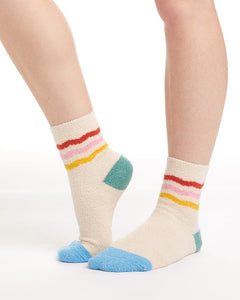 Cozy Grip Rainbow Socks