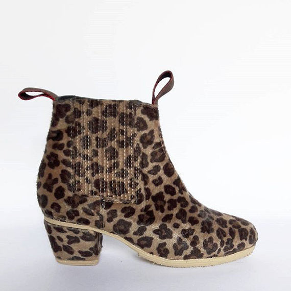 Wayne leather ankle boots