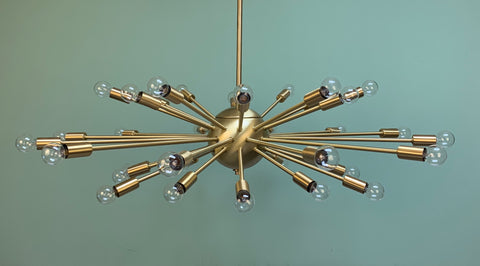 "36"" 36-Light Sputnik"