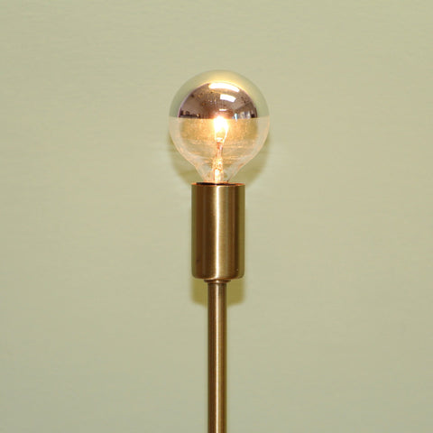 Mirrored Globe Bulbs