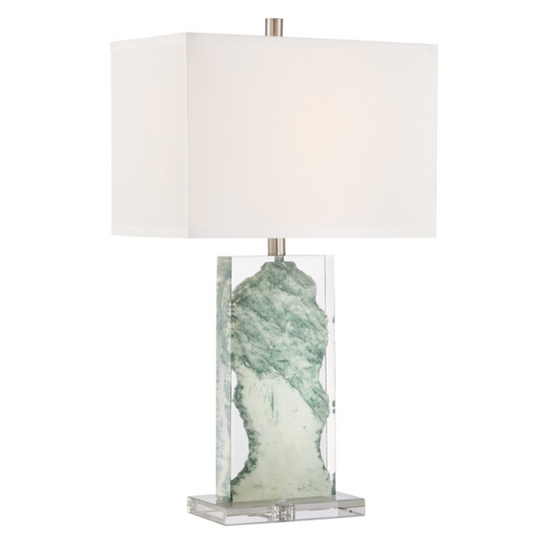 Cleon Lucite Table Lamp