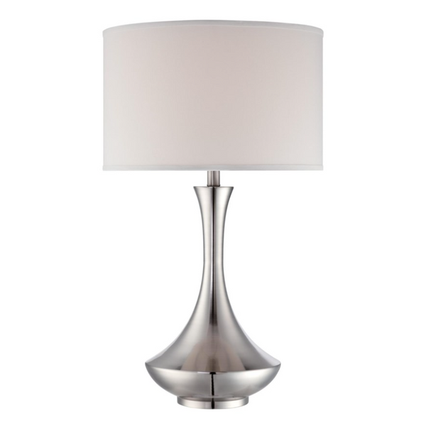 Elisio Silver Table Lamp