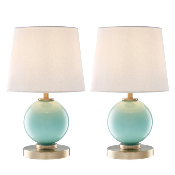 Eliza Sea Glass Table Lamps