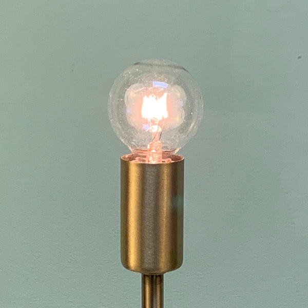 G12 Clear Globe Bulbs