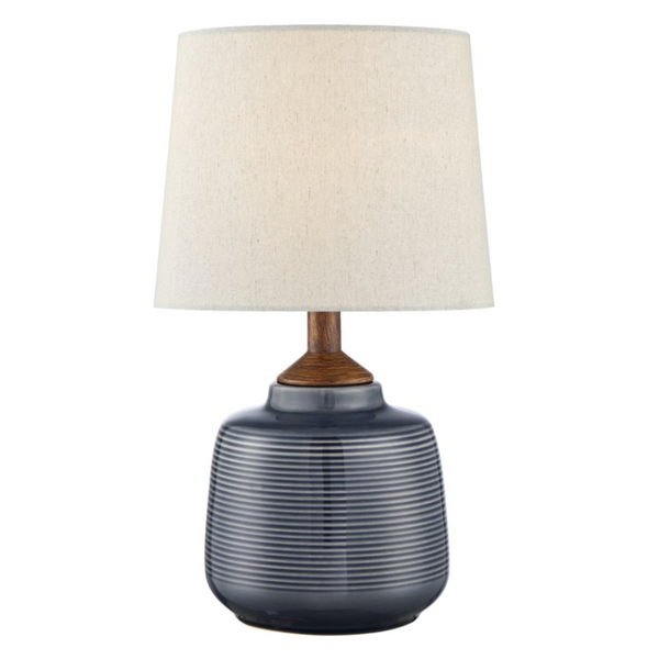 Lismore Blue Table Lamp