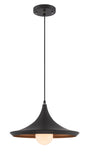 Landis Modern Industrial Pendant by Lite Source