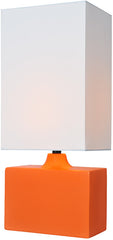 Kara Orange Modern Table Lamp