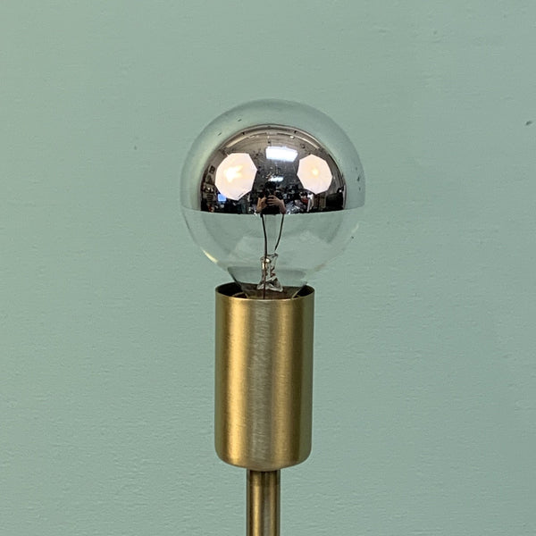 Half-Chrome Globe Bulbs