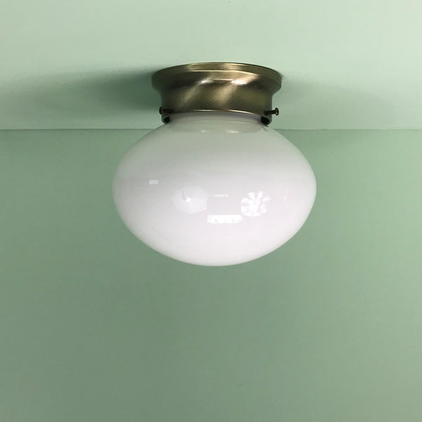 Mushroom Glass Flush Mount