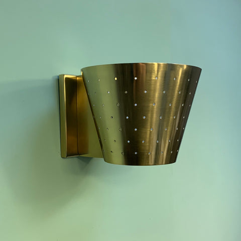 Pierce Pinhole Wall Sconce by Robert Abbey