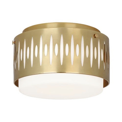 Treble Modern Flush Mount Light Fixture by Robert Abbey - 2088