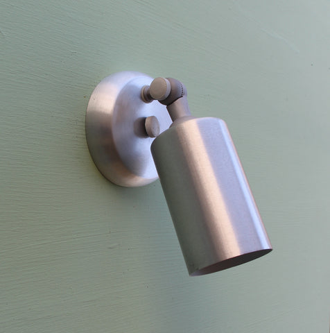 Small Single Cylinder Sconce