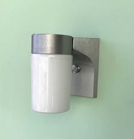 Modern Exterior Vapor Light Wall Sconce Fixture